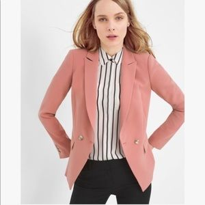 NWT white house black market | blush pink blazer 0